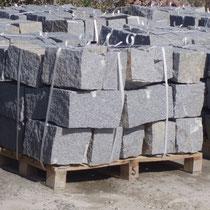 regelm. Granit-Mauersteine 20/20/40