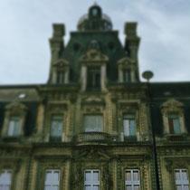 Repérage d'un mascaron intéressant sur le Château Descas (Quai de Paludate, Bordeaux)