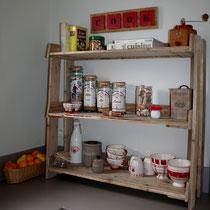 Etagère en bois de palette pour la cuisine