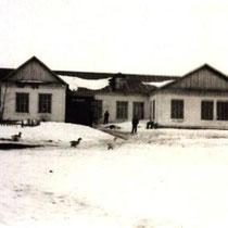 Здание  Широкоуступской средней школы. 1970 г.
