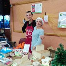 marché de Noel à Bozel