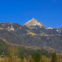 Der Wendelstein im Frühling (zwischen Schliersee und Bayrischzell)