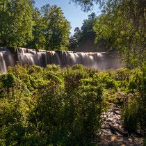 Wie im Dschungel...Wasserfall Keila-Joa