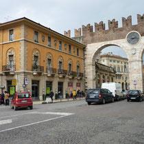 Die Stadt Verona öffnet ihre Pforten für uns.