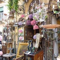 ....der berühmte Lampenladen in Taormina.