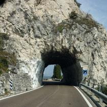 ...so schöne Tunnel.