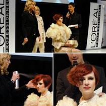 TOP HAIR 2011 in Düsseldorf! Ich als Haarmodel bei der Show von Marlies Möller.
