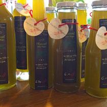 Olivenöl abgefüllt