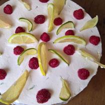 Eine Torte von lieben Gästen in der FeWo