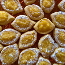 Limoncelli-Kekse gebacken