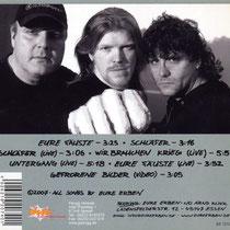 Eure Erben - Eure Fäuste CD - back