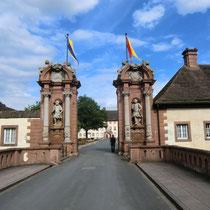 Eingang zum Schloß Corvey