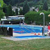 mit Schwimmbad