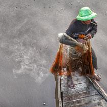 Pêcheur - région de Mandalay