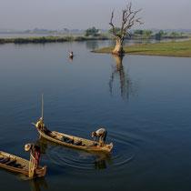 Pêcheurs région de Mandalay