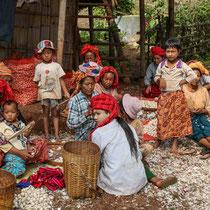 Ethnie Pao région de Kalaw