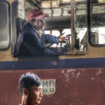 Chauffeur de train - Haute Birmanie