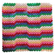 Manidae ´70 / flach ausgelegt / 41 x 41 cm / 2010
