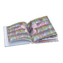 pop-up Buch / Schmetterlingsschuppen / 2001 / Foto: MS