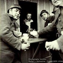 La buvette de Clotilde Bizolon - 1939