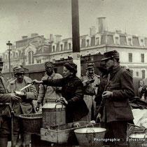 La buvette de Clotilde BIZOLON entre 1914 et 1918