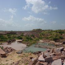 砂岩採掘場