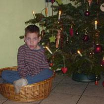 Daneel zu Weihnachten.