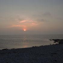 Sonnenuntergang auf Fehmarn - Foto: Gerd Jürgen Hanebeck