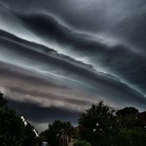 Gewitterwolken über Marmstorf - Foto: Michael Wohl-Iffland