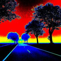 Straße auf Fehmarn - Foto: Gerd Jürgen Hanebeck
