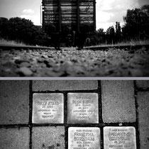 Stolpersteine   -   Foto: Willi Heinsohn