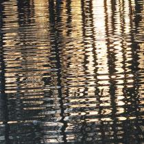 10. Platz 163 Pkt. Abendrot im Teich - Foto: Uta Svensson