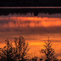 Sonnenuntergang, Tister Bauernmoor - Foto: Gesche Andresen