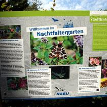 000 Nachtfaltergartenschild - Foto: Willi Heinsohn