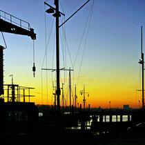 Oevelgönne Museumshafen   -   Foto:   Hans Dieckmeyer