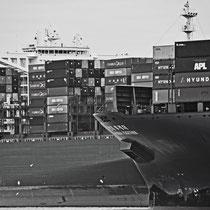 Schiff, Lühesand - Foto: Anja Lewertoff