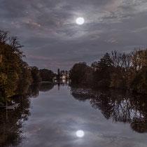 4. Platz 157 Pkt. Elbe im Mondschein - Foto: Adolf Dobslaff