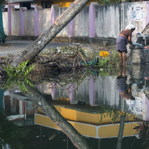 Backwaters, Kerala - Foto: Dagmar Esfandiari