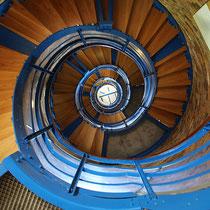Treppenaufgang, Flügger Leuchtturm - Foto: Volker Svensson