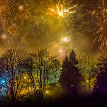 Silvesterfeuerwerk - Foto: Adolf Dobslaff