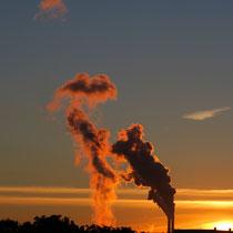 Sonnenaufgang, Moorburg - Foto: Inge Kovarik
