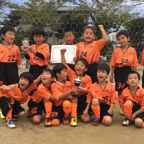 10/10 1年生松原FC35周年記念大会 1年生 優勝