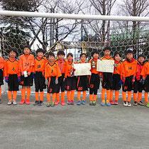 1/14 浦和中尾ジュニアカップ 4年生 優勝