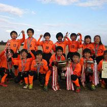 1/31 3年生 第34回三郷FCジュニアサッカーフェスティバル 優勝