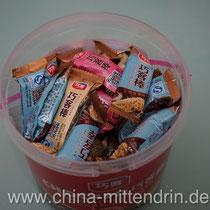 Sieht so lecker aus. Aber wirklich nur geeignet als Geschenk und Snack für meine chinesischen Freunde. Ich krieg's nicht runter.