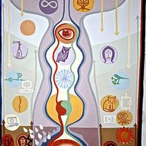 HELFER FÜR J. SCH., 2008, Acryl auf Leinen, 150x200cm