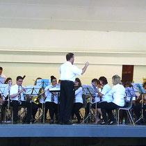 gemeinsames Konzert mit der Stadtmusik