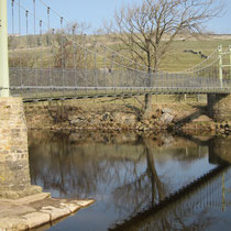Swing Bridge crossing River Swale
