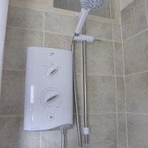 New showers Ashcroft