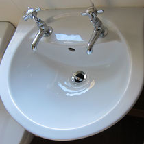 Shining wash basins